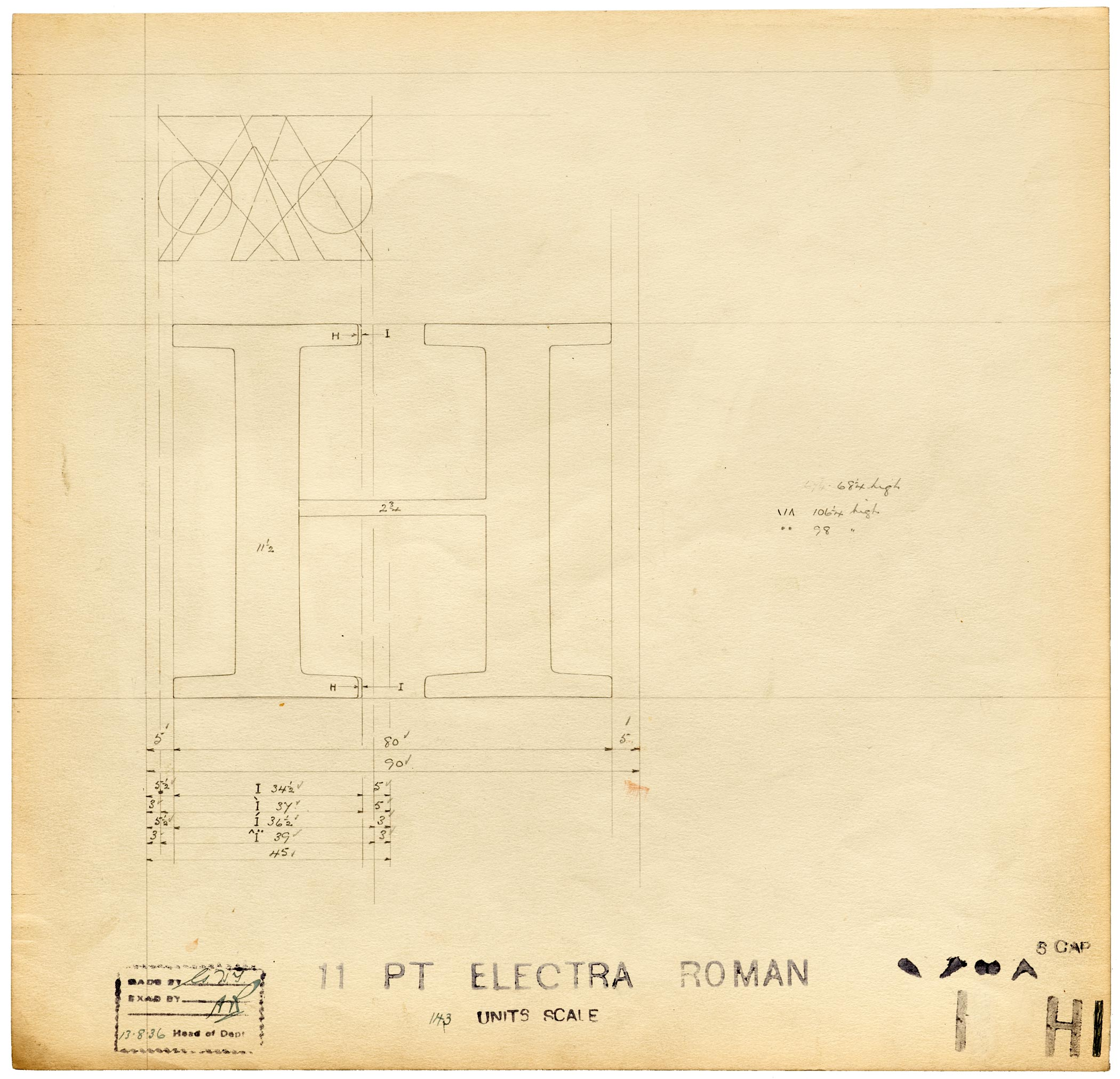 This Just In: Linotype Master Drawings – Letterform Archive