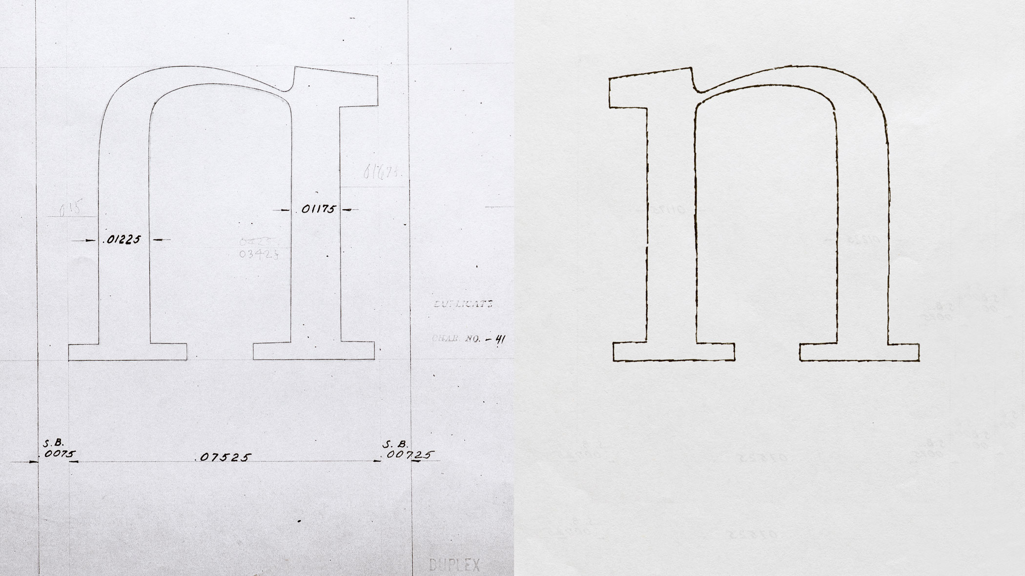 Recasting electra as aluminia letterform archive
