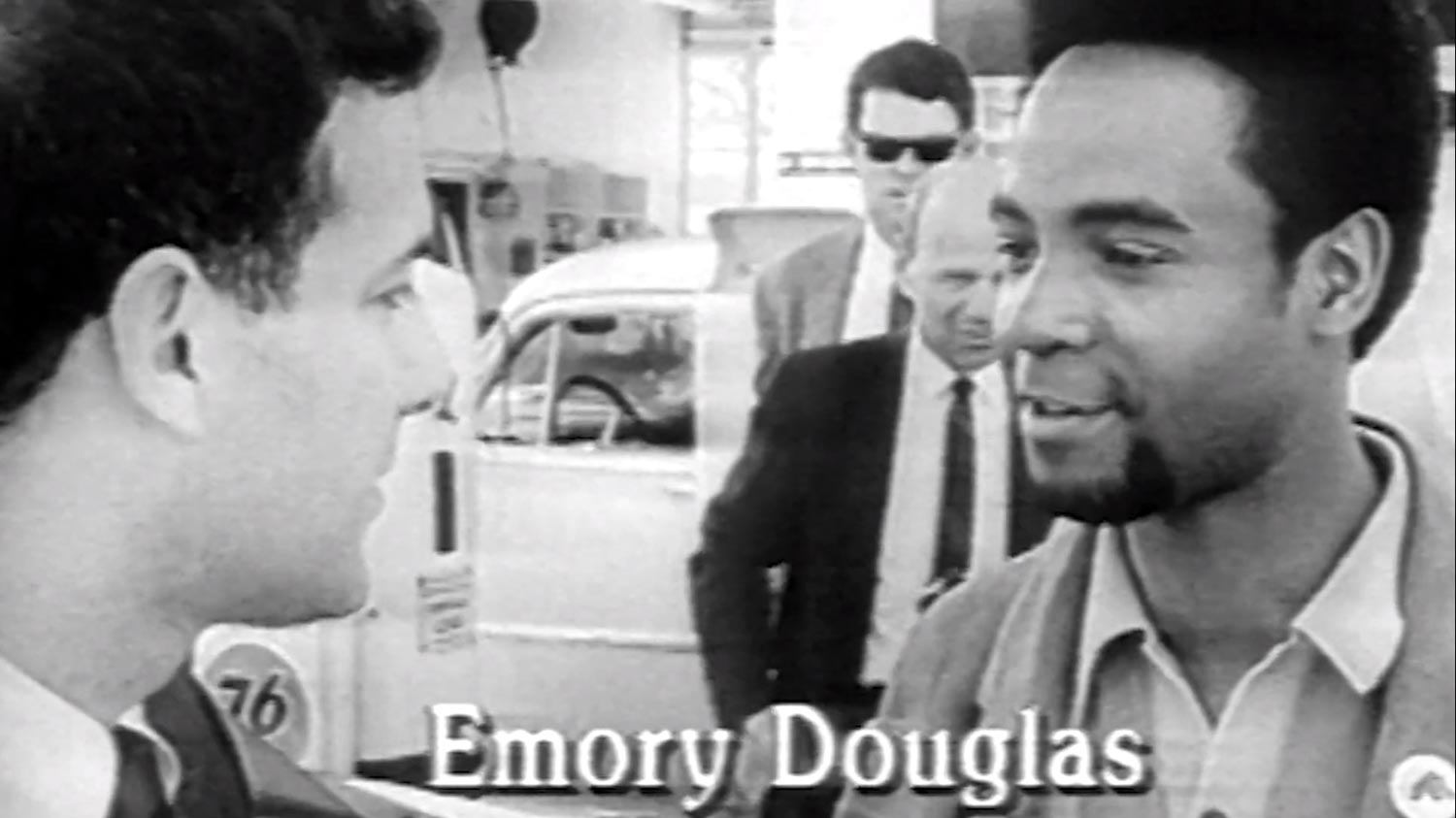 Emory Douglas, late 1960s film footage, Emory Douglas: The Art of the Black Panthers