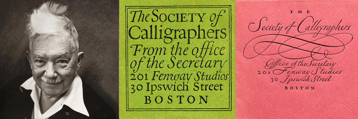 W. A. Dwiggins, Hermann Püterschein, and the Fictional Society of Calligraphers