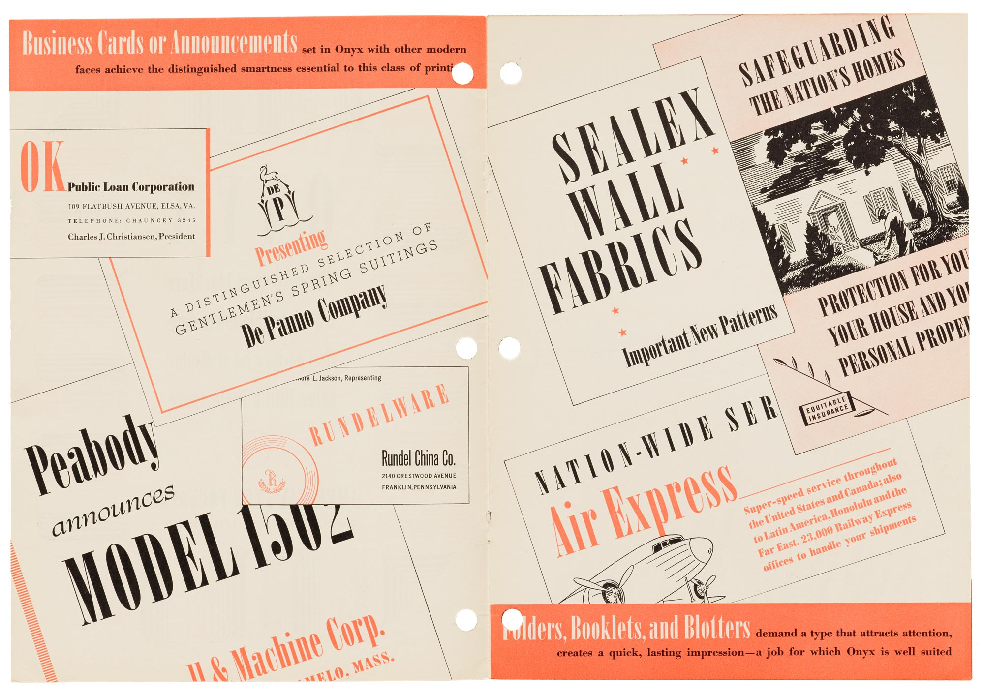 Letterform Archive – Foundry Ephemera for Sale at Typographics