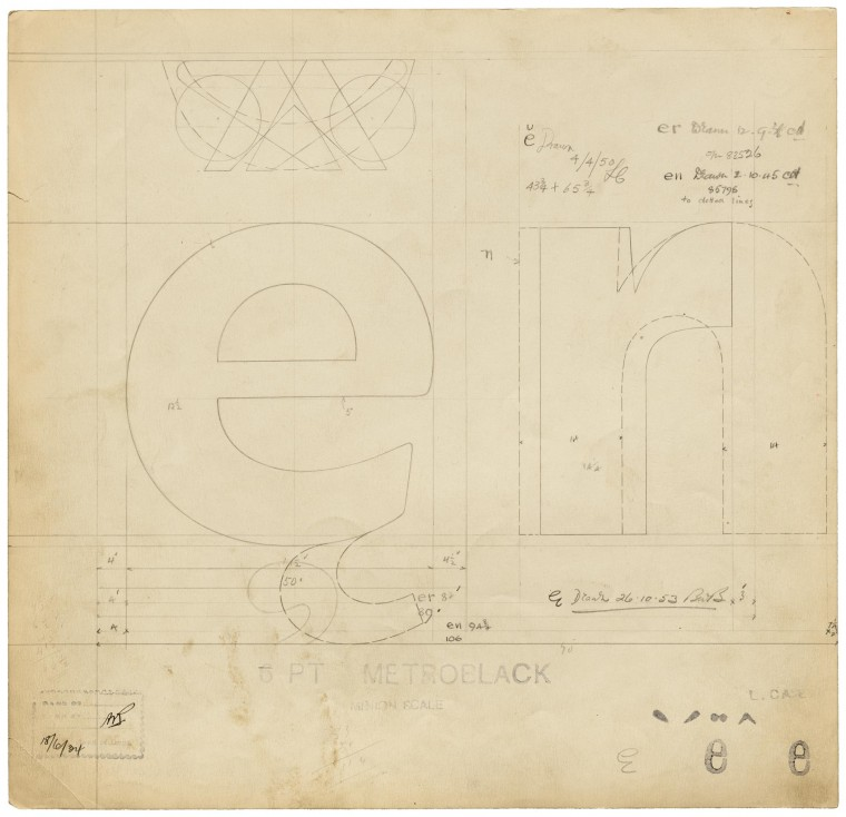 This Just In: Linotype Master Drawings
