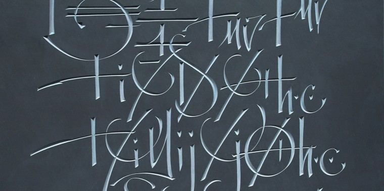 Stone Carved Lettering and the Digital Age