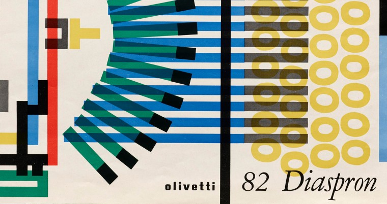 New in the Online Archive: Giovanni Pintori for Olivetti