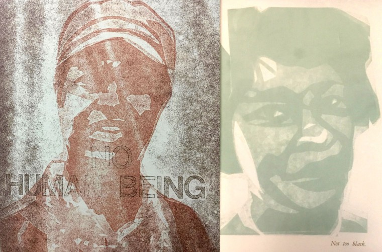 Too Black/Ain't Black Enough, or Stereotype and Truth: Typography in African American periodicals, popular culture, and artists' books