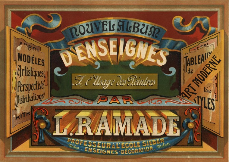 Now Online: Color, Ornament, and Type at the Turn of the 20th Century