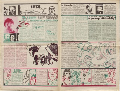 Spread from Iets, No. 15, 1967.