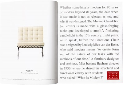 Jennifer Morla, Design Within Reach: What is Modern?, 2008.