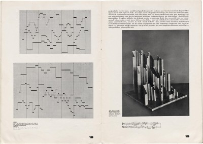 "Joost Schmidt's article ""Schrift"" in bauhaus, year 2, no 2/3, 1928."