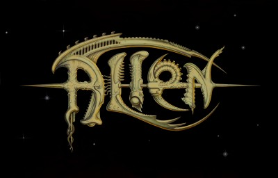 Title treatment for Alien.