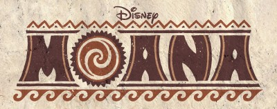 Title treatment for Moana.
