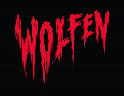 Title treatment for Wolfen.