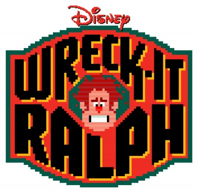 Title treatment for Wreck-It Ralph.