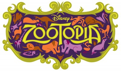 Title treatment for Zootopia.