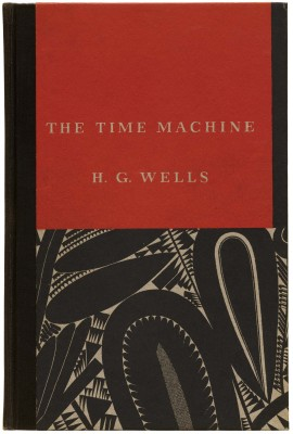 W. A. Dwiggins, cover for H. G. Wells, The Time Machine (New York: Random House, 1931). Collection of Letterform Archive.