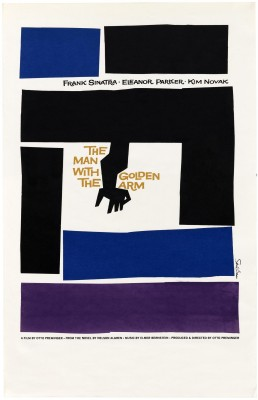 Saul Bass, The Man with the Golden Arm, 1955.