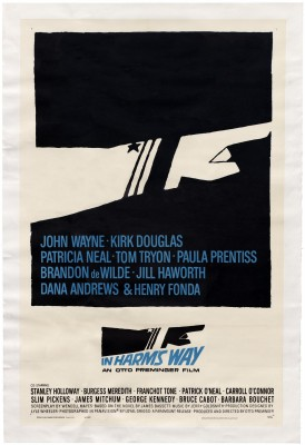 Saul Bass, In Harm's Way, 1965.