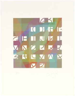 Susan Skarsgard, 26 of 26: Twenty-Six Alphabets, 2009.