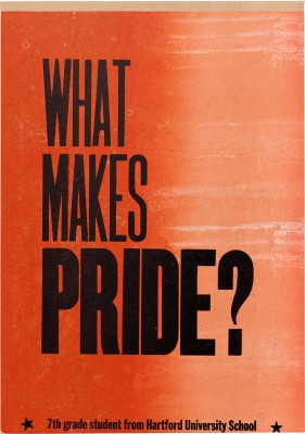 Amos Kennedy Jr., What Makes Pride?