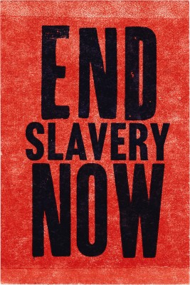 Amos Kennedy Jr., End Slavery Now.