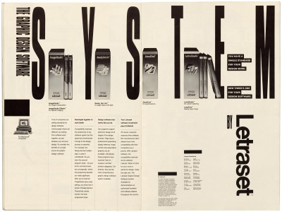 Pages 20–21, Emigre #11, Berkeley, Emigre Graphics, 1989.