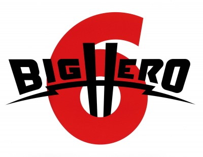 Title treatment for Big Hero 6.