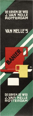 Jacob Jongert, Van Nelle's Banier coffee label, Rotterdam, ca. 1925.
