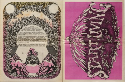 Spread from The Oracle of Southern California, No. 5, 1967.