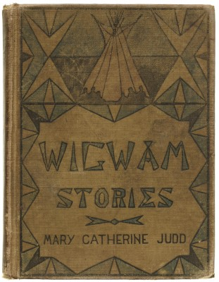 Angel DeCora, alternate cover design for Wigwam Stories, 1906 (first published 1902), Collection of LfA.