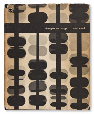 Paul Rand, Thoughts on Design, 1947.