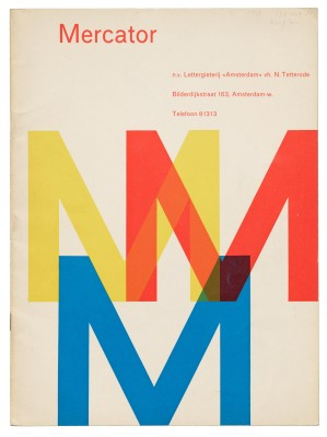 Mercator, Amsterdam Type Foundry, 1958