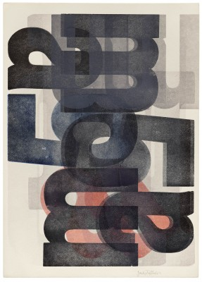 """ma5"" series, Jack Stauffacher, late 1960s. Collection of Letterform Archive."