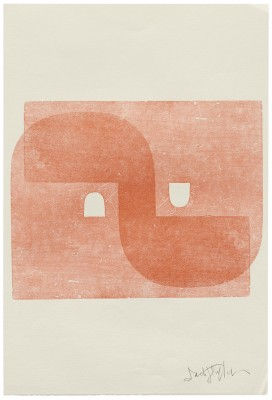 Untitled series print, Jack Stauffacher, date unknown. Collection of Letterform Archive.