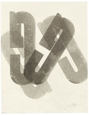"""G"" Series, Jack Stauffacher, date unknown. Collection of Letterform Archive."