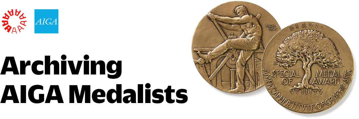 Archiving AIGA Medalists