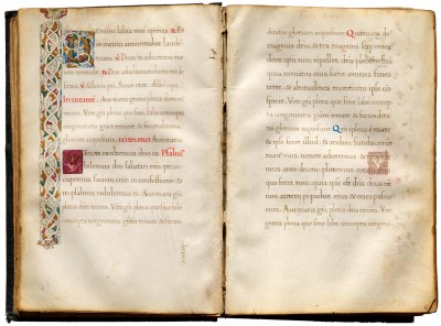 Latin Devotional Manuscript
