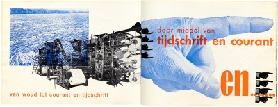 Piet Zwart, Brochure for Nijgh and van Ditmar, 1931