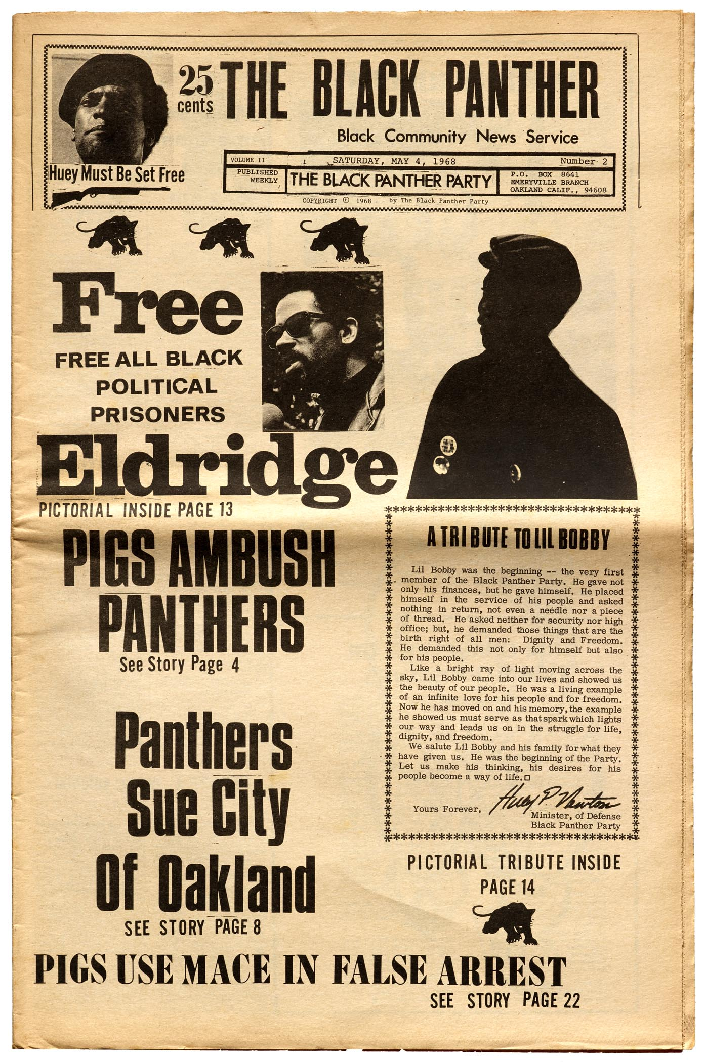 The Black Panther, May 4, 1968