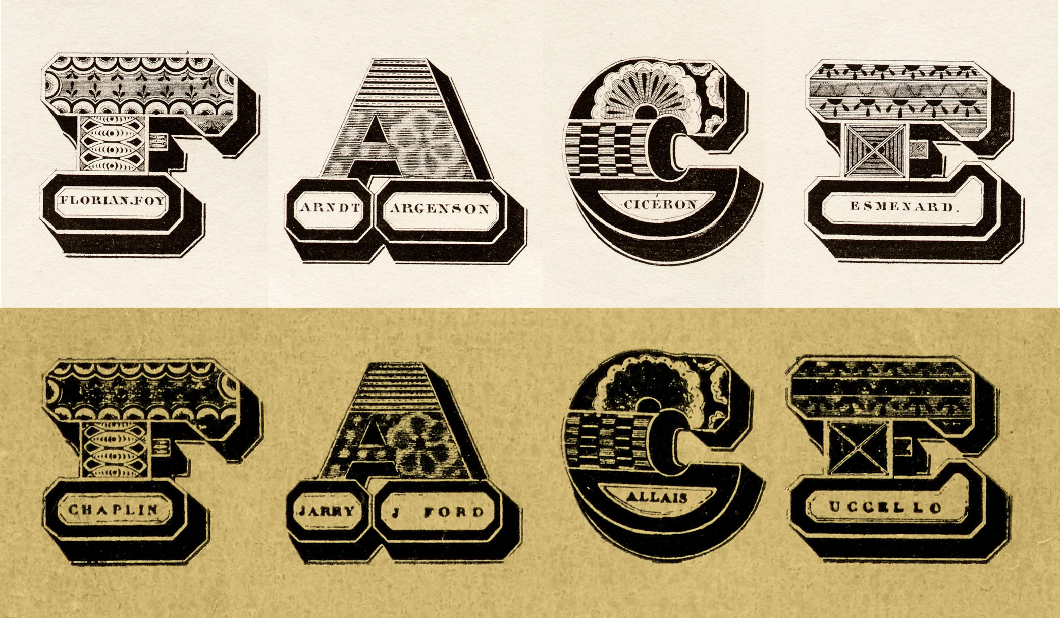 Archive Salon 03: New Uses for Old Type