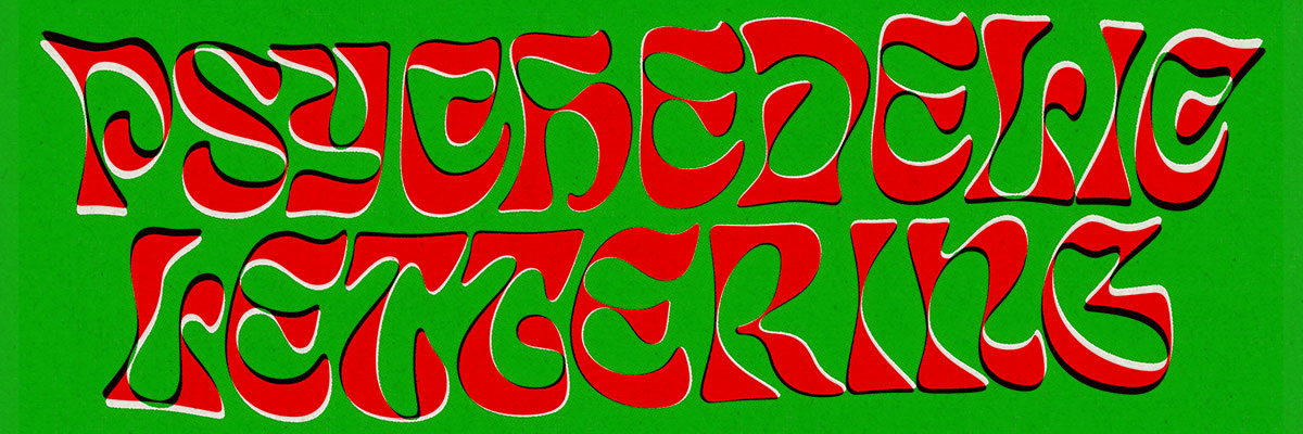 Psychedelic Lettering