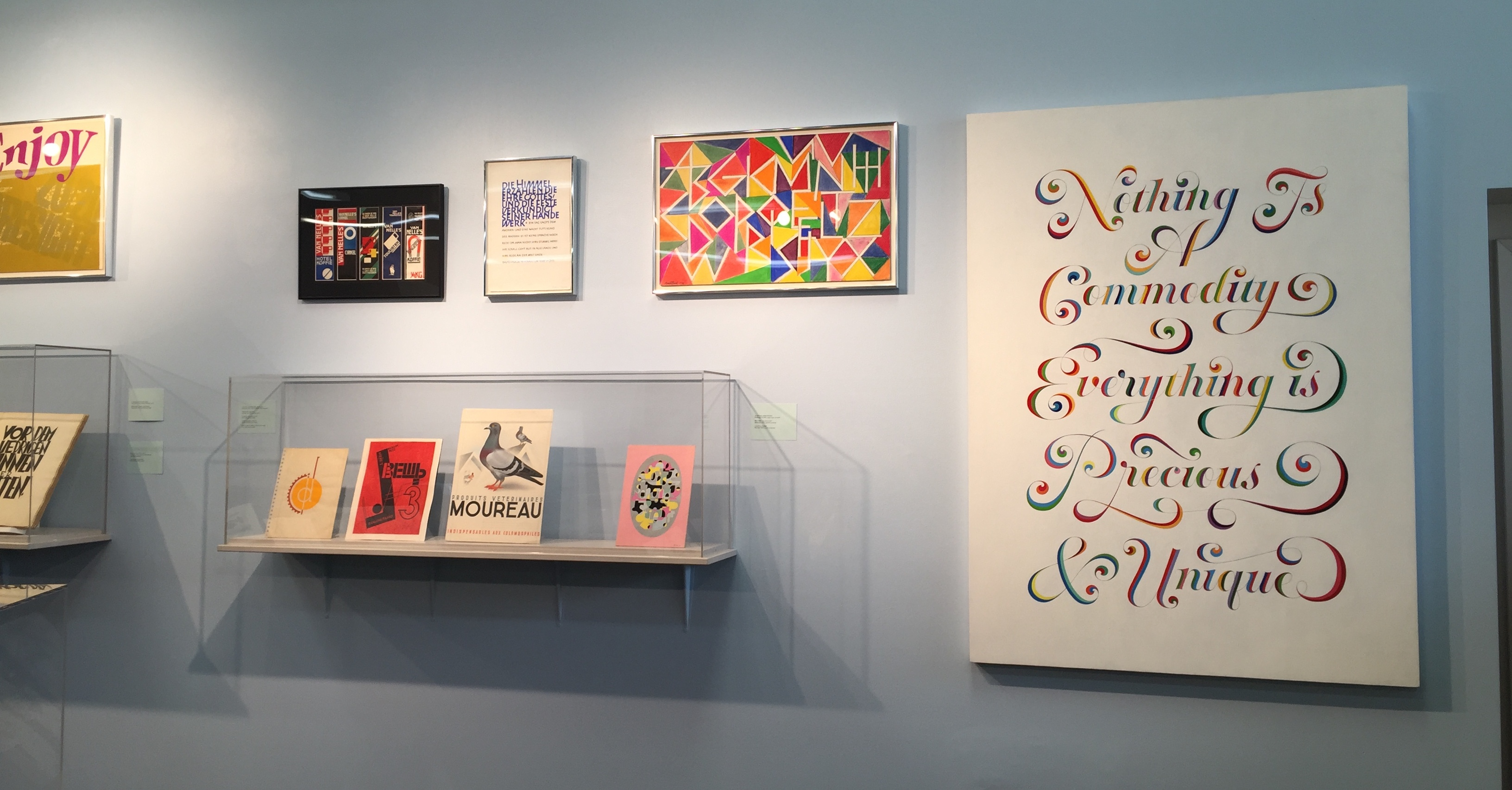 The Exhibition Organized By Letterform Archive In San Francisco Brings Together Handmade Letter Art From 15th Century To Today Without Type